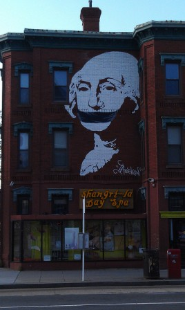 Gagged Washington (CC By-NC 2.0) art around
