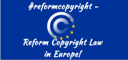 Reform copyright law in Europe !