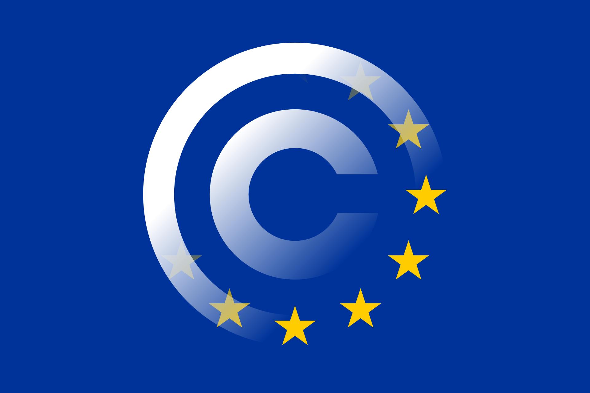 Europe et copyright (Clker-Free-Vector-Images) Licence Pixabay