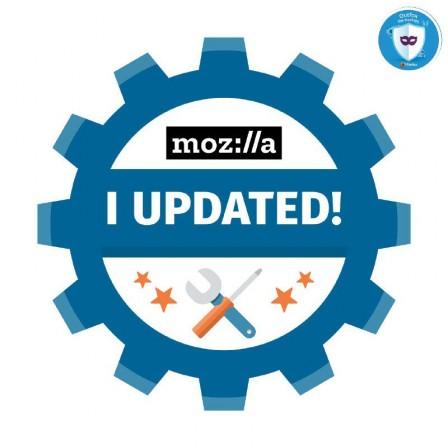 I updated! Mozilla